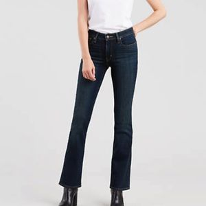 NWT Levi's 515 Bootcut Dark Wash Jeans Size 10